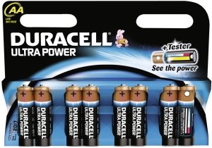 "Duracell Alkaline Batterien ""Ultra Power"", 8er Set, Typ AA"