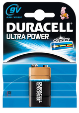 "Duracell Alkaline Batterie ""Ultra Power"", 1er Set, Typ E-Block 9"