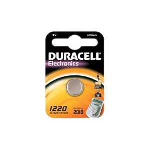 "Duracell Lithium Knopfzelle ""Electronics"", 1er Set, Typ 1220"