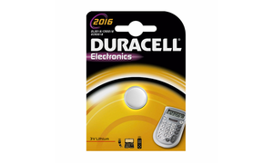"Duracell Lithium Knopfzelle ""Electronics"", 1er Set, Typ 2016"