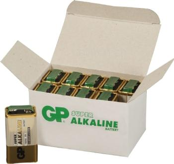 GP Super Alkaline Batterie, 10er Set, Typ Block