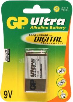 GP Ultra Alkaline Batterie, 1er Set, Typ Block
