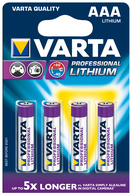 "Varta Lithium Batterie ""Professional Lithium\"", 4er Set, Typ AAA"